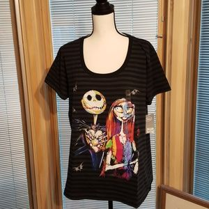 Jack Skellington and Sally Tee